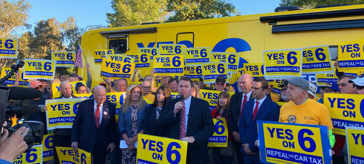 Reform California Kicks off Statewide Bus Tour to Repeal Gas Tax
