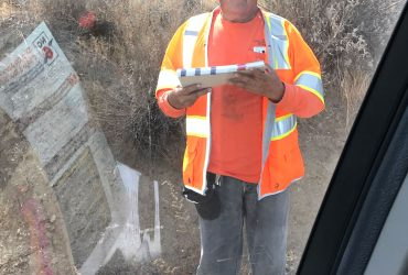 In Blatant Violation of State Law, Caltrans Work Crew Caught Stopping Traffic to Distribute Campaign Fliers Opposed to Prop 6 Gas Tax Repeal Initiative