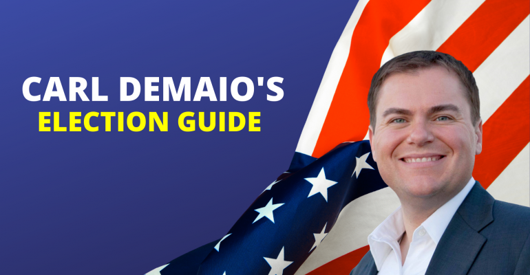 Carl DeMaio's California Election Guide 2020