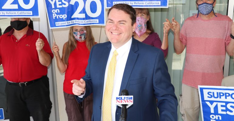 Carl DeMaio and Crime Victim Advocates Urge Yes on Prop 20