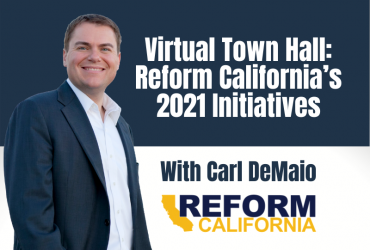 Virtual Town Hall: Reform California's 2021 Initiatives