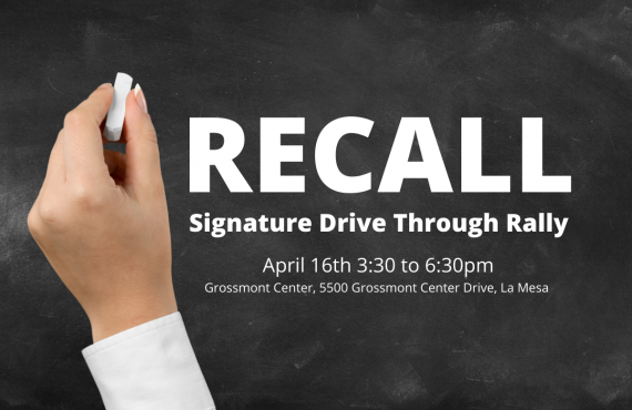 Recall Signature Drive Through Rally