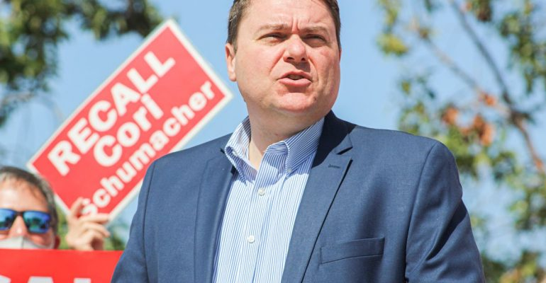 DeMaio, Carlsbad business owners launch recall effort against Schumacher