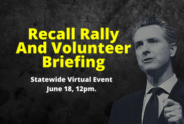 Recall Rally and Volunteer Briefing – Statewide Virtual Event