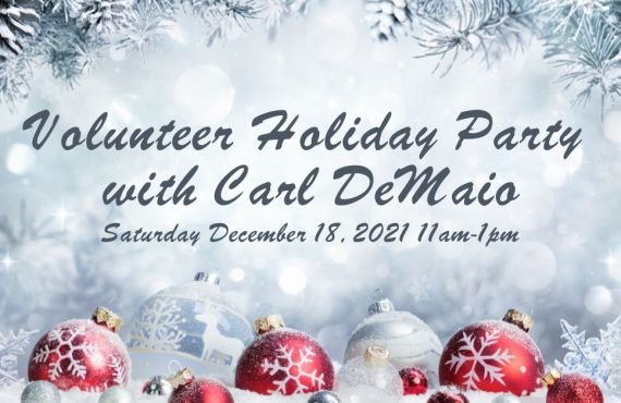 Volunteer Holiday Party with Carl DeMaio