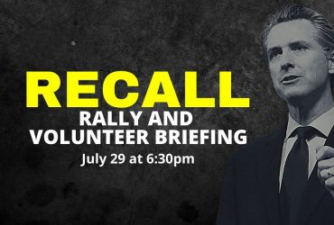 Recall Rally and Volunteer Briefing – Central San Diego