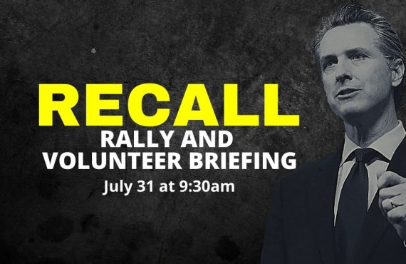 Recall Rally and Volunteer Briefing – Orange County