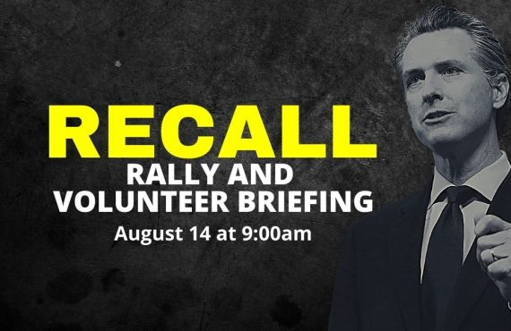 Recall Rally and Volunteer Briefing – Temecula