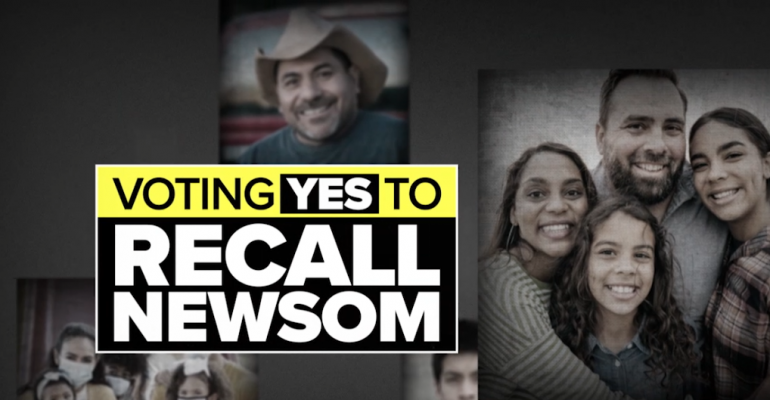 Reform California Unveils English and Spanish TV Ads for YES on Recall Campaign