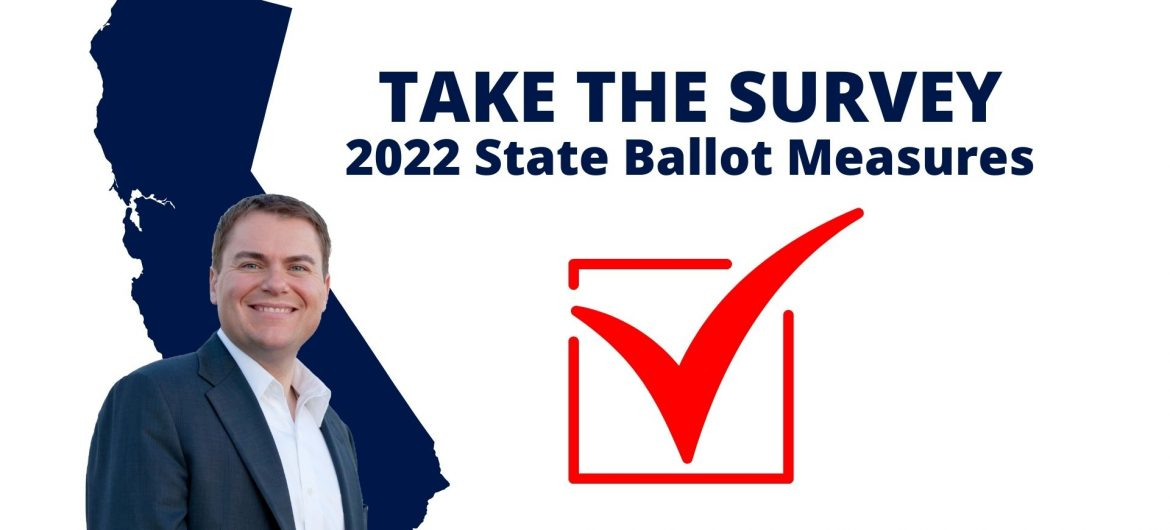 TAKE THE SURVEY: Set The Priorities for Statewide Ballot Measures in 2022